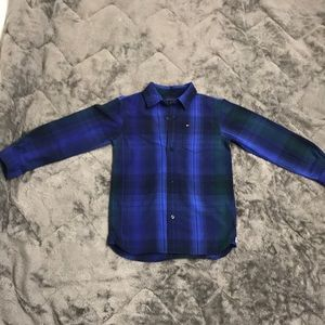 Other - Button up plaid Tommy shirt size 7/8